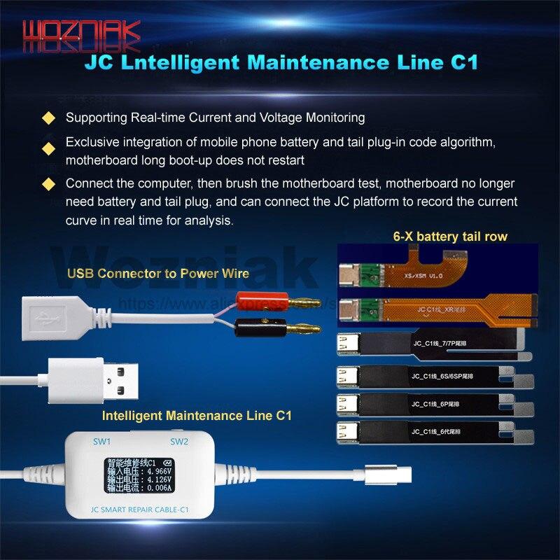 JC C1 Intelligent Smart Repair Box for iphone 6 6S 7 8 Plus motherboard charging / rooting / fault detect Intelligent repairJC C1 Intelligent Smart Repair Box for iphone 6 6S 7 8 Plus motherboard charging / rooting / fault detect Intelligent repair