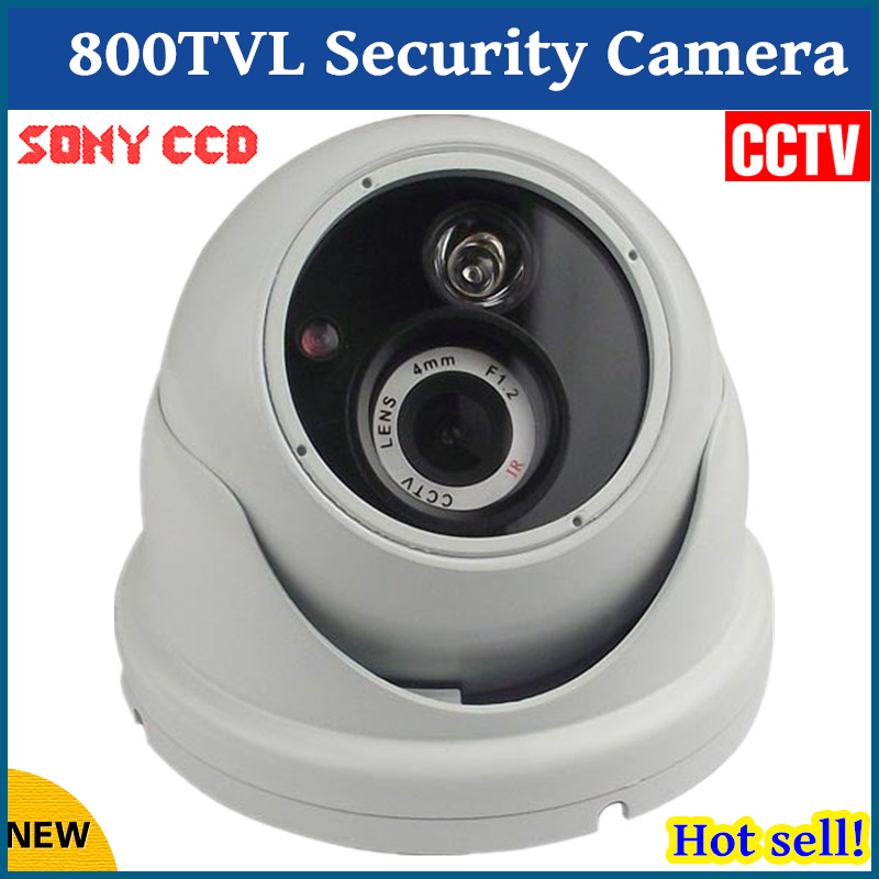 все цены на High Quality 2017 New HD CCTV Camera 800 TVL Sony CCD High line Array IR LED Security Camera Night Vision Network Dome Camera