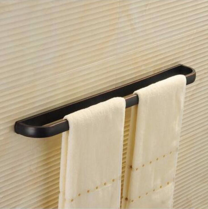 Free Shipping Euro style Towel holder Fashion Copper Towel Rack 24 inch Towel bar Bathroom Towel Hanger Bathroom Accessories