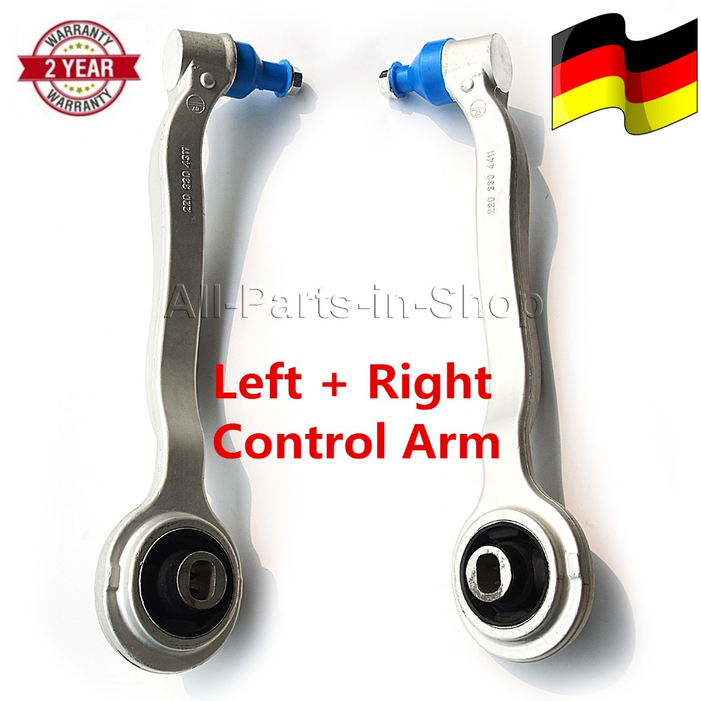 2203301811 Pair Control Arm front left+right For Mercedes-Benz ML 63 AMG ML350 ML500 ML250 4-matic