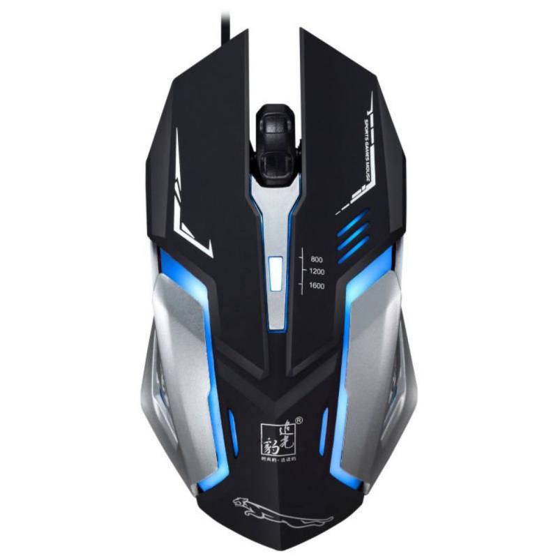 K1 Mouse Light Cool Breathing Light Sports Car Concept Mechanical Appearance Wired USB Game Mobile Mouse Computer