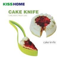 Silicona pie slicer práctico ecológico perfecto pequeño cortador cuchillo de cocina gadget cocina DIY Herramientas suministros para hornear corte