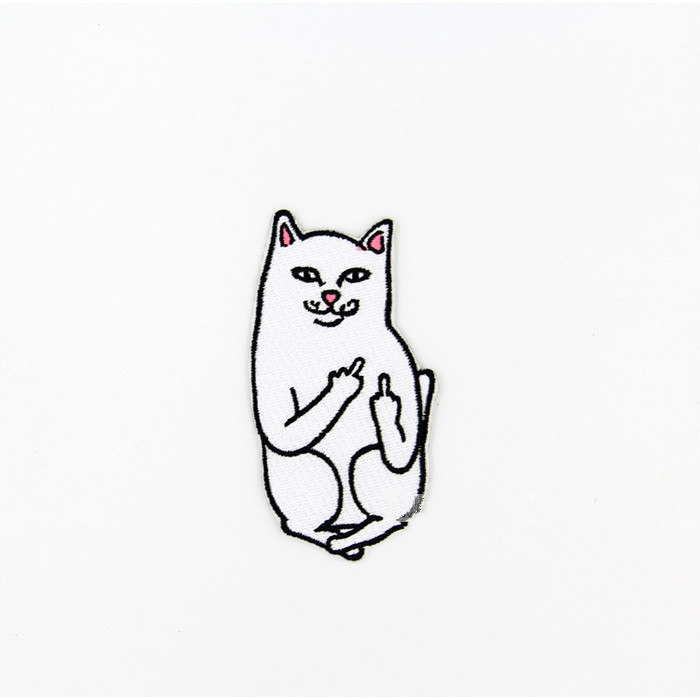 Tienda Online Gato con el dedo medio humor palabras divertidas say ...