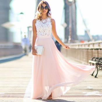 Большая Акция-кружевное платье принцессы шифоновое кружевное длинное платье леди популярные новый дизайн платья для модниц подарок для по... >> Gold Catalpa Official Store