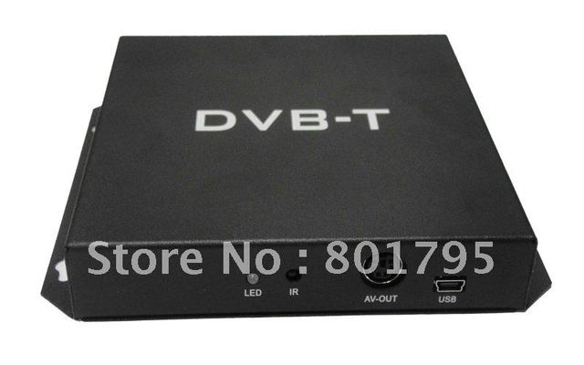 DVB T Receiver Digital TV Receiver DVB-t MPEG-4 with Double digital TV antennas