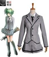 Free Shipping Assassination Classroom Kunugigaoka Junior High School Class 3-E Girl's School Uniform Anime Cosplay Costume