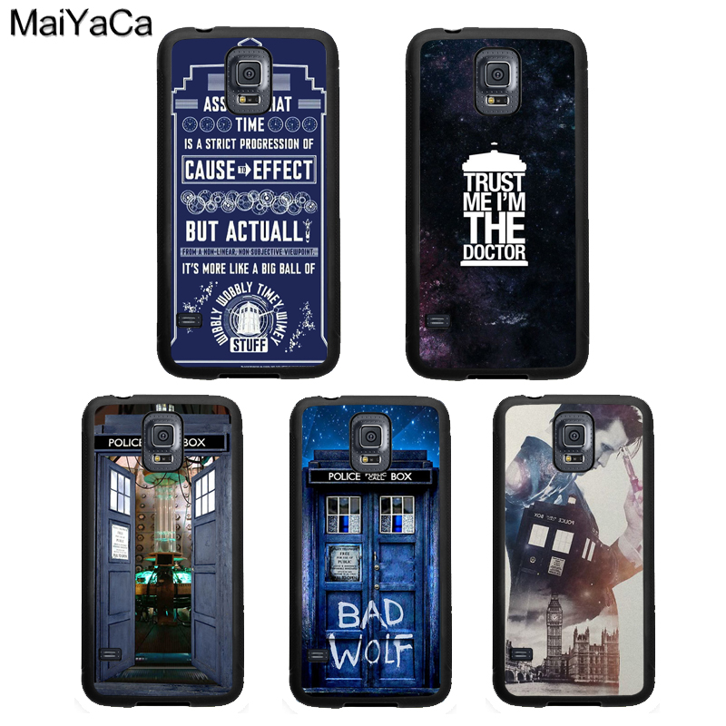 Qualified Maiyaca Doctor Who Quotes Rubber Case For Samsung Galaxy S9 S10 S8 Plus Lite S4 S5 S6 S7 Edge Note 9 8 5 Cover Coque Phone Bags & Cases