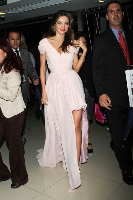 Miranda Kerr Dress High Low Pink Prom Dresses Short Front ... миранда керр и эван шпигель