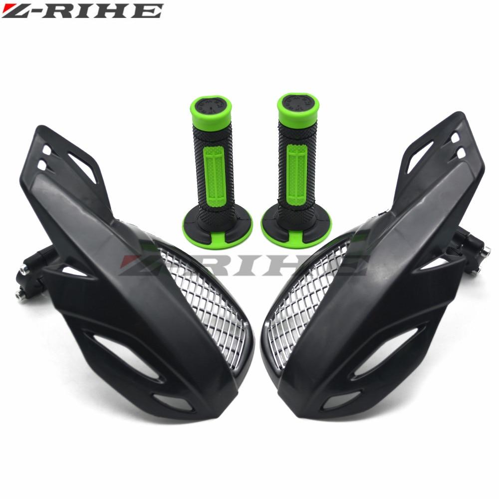 Motorcycle Handguard Hand Guard Protector FOR Kawasaki KDX200 220R KDX50 KE100 KX80 KZ1000P  Moto Dirt Bike ATVS 22mm Handlebar mitsubishi 100% mds r v1 80 mds r v1 80
