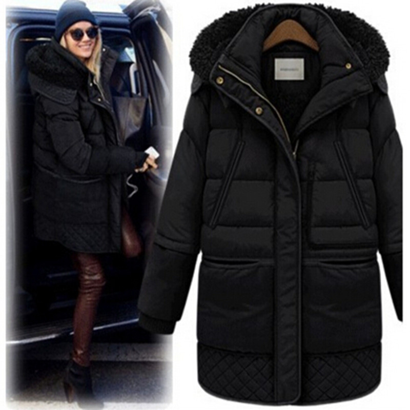 jaqueta feminina inverno jacket women 2017 winter coat women parkas mujer invierno 2017 womens down jackets hooded winter jacket women thick cotton padded parka down warm casaco feminino jaqueta feminina abrigos mujer invierno sy235