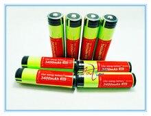 Mah para a 8 Pçs e lote Novidade Original 18650 Ncr18650b Bateria Li-ion Recarregável 3.7 V 3400