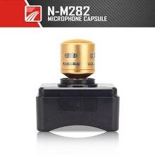 Melhor Substituto! YUEPU RU-M282 Cápsula Do Microfone Microfone Cabeça de Substituição para microfone de Alta-Fidelidade de Voz Material Dourado Metal