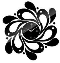 Mirror Wall Art Acrylic Watch Children Watch New Modern Home Decor Diy Clock Black Golden Silver Color for Choice