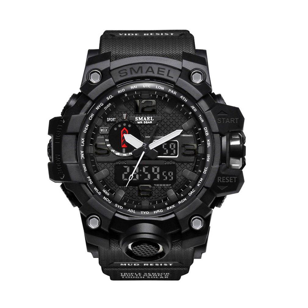 IP68 Waterproof Watch LED Outdoor Sports For Girls Boys Military Climbing Running Chronograph Alarm Clock Men Digital Wristwatch