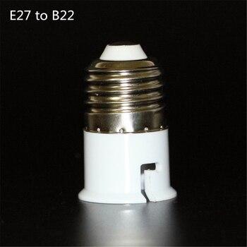 2016 adaptador LED de alta calidad E27 a B22 portalámparas adaptador de soporte de lámpara extensor de luz Led