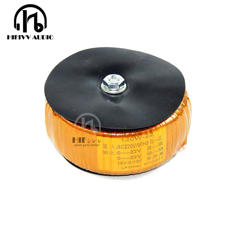 HIFI Amplifier Dedicated Circular Transformer 120W Wire Double 18V LM4766 TA2022 LM3886 amplifier