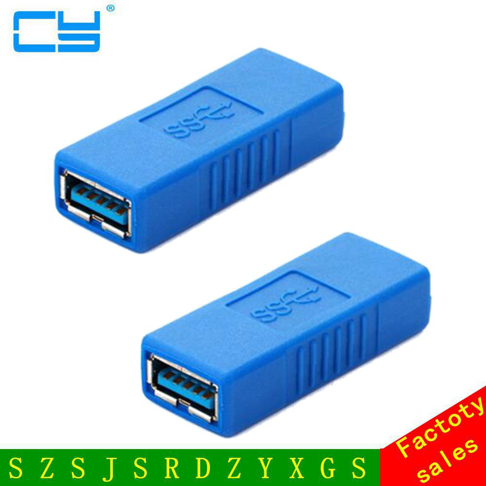 New USB 3.0 Type A Female to Female Connector Coupler Gender Changer Adapter US