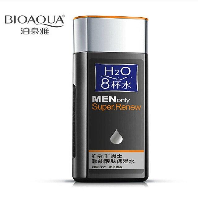 BIOAOUA Восемь стаканов воды Мужчины силы, чтобы Возобновить Пополнение увлажняющий Уход За Кожей нефть управления уменьшить поры Уход За Кожей Лица