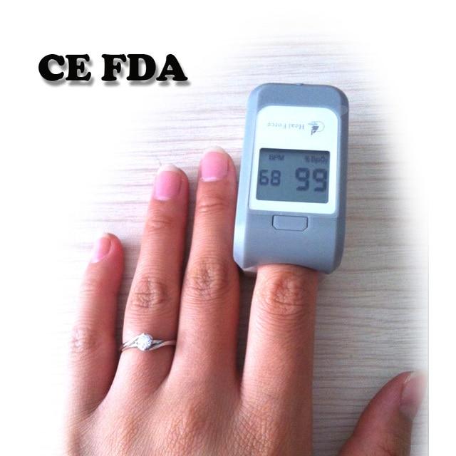 Fda ce الإصبع نبض مقياس التأكسج الأوكسجين lcd رصد معدل النبض
