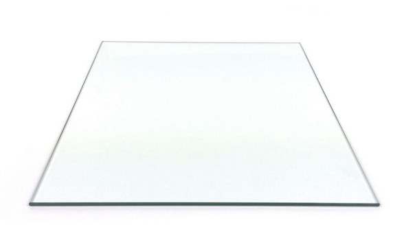 ФОТО Smartrap Reprap 3D Printer 250x250 mm Borosilicate Glass Build Plate 3mm thick