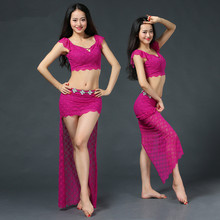 Belly dance eastern diamond embroidery font b skirts b font bra dress costume for oriental dance