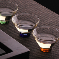 Japanese Style Heat-resistant Teacup Kung Fu Tea Set Tea Cup Bowl Flower Tea Hat Cup Master CupsCreative Home Decor 65ml