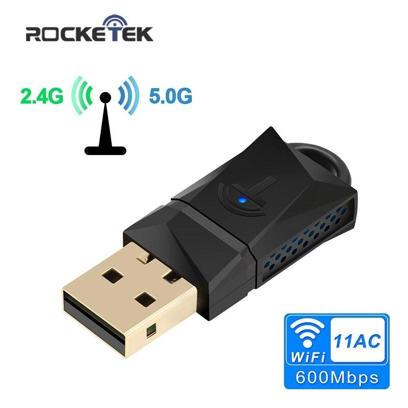Rocketek 300 Mbps sans fil USB WiFi adaptateur/Utral-Rapide Externe sans fil wi-fi récepteur/Portable carte réseau 802.11n/a/g Dongle