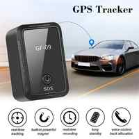 Ulepszona GF-09 mini urządzenie śledzące gps kontrola aplikacji urządzenie antykradzieżowe lokalizator magnetyczny dyktafon do lokalizacji pojazdu/samochodu/osoby