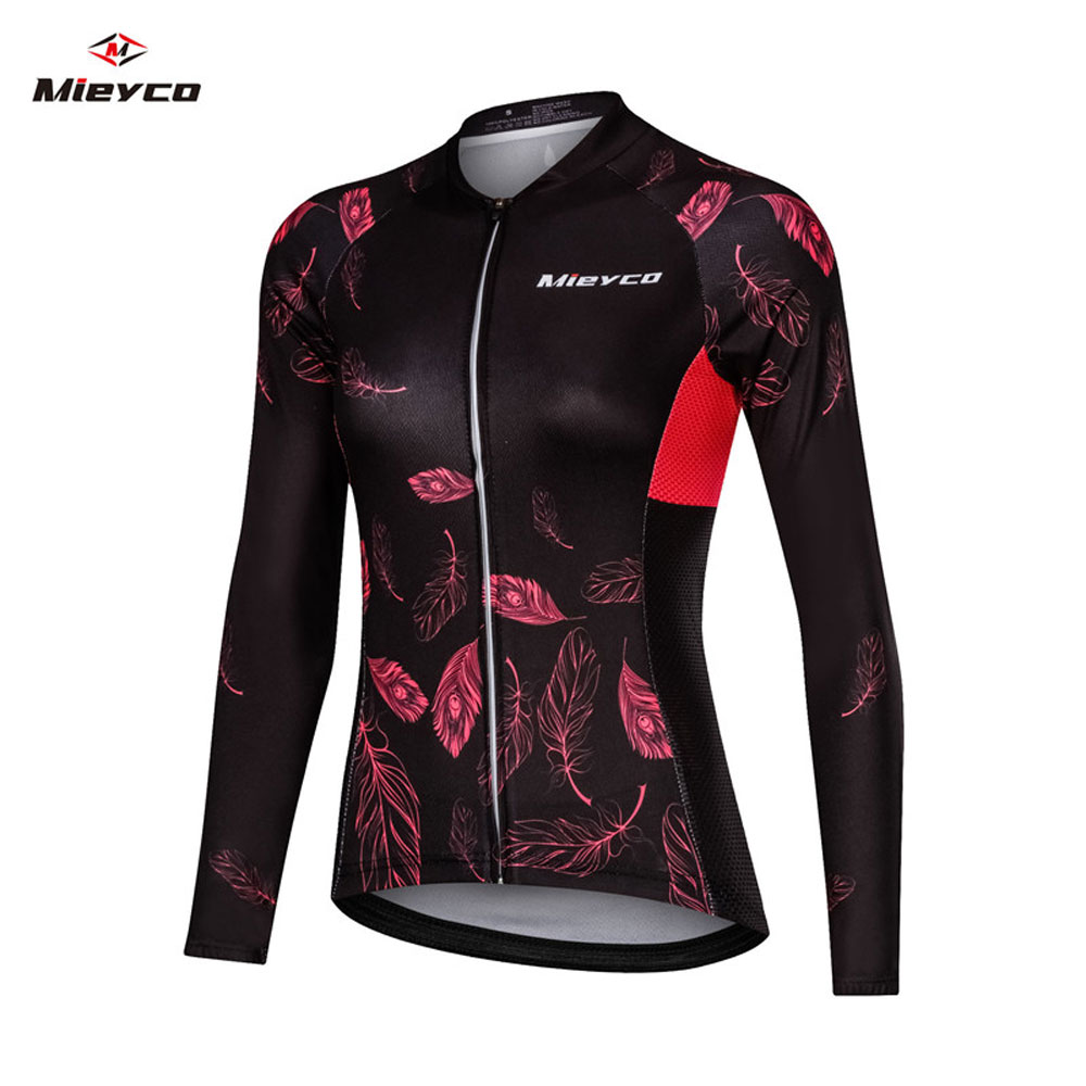 2019 Women Cycling Jerseys Mountain Bike T Shirt motorcycle Downhill Jersey MTB Clothes Men Bicycle Clothes Long sleeve Tops