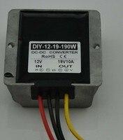 12V(9V 18V) Step Up To 19V 10A 190W DC DC Converter Boost Power Module Car Power Supply Adapter Regulator Waterproof