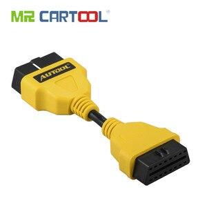 Image 1 - Autool obd2 cabo 14 cm 1 m 1.5 m 40in obdii extensão do carro cabos & conectores para idiag/5c/v/golo estender obdii cabo odb adaptador