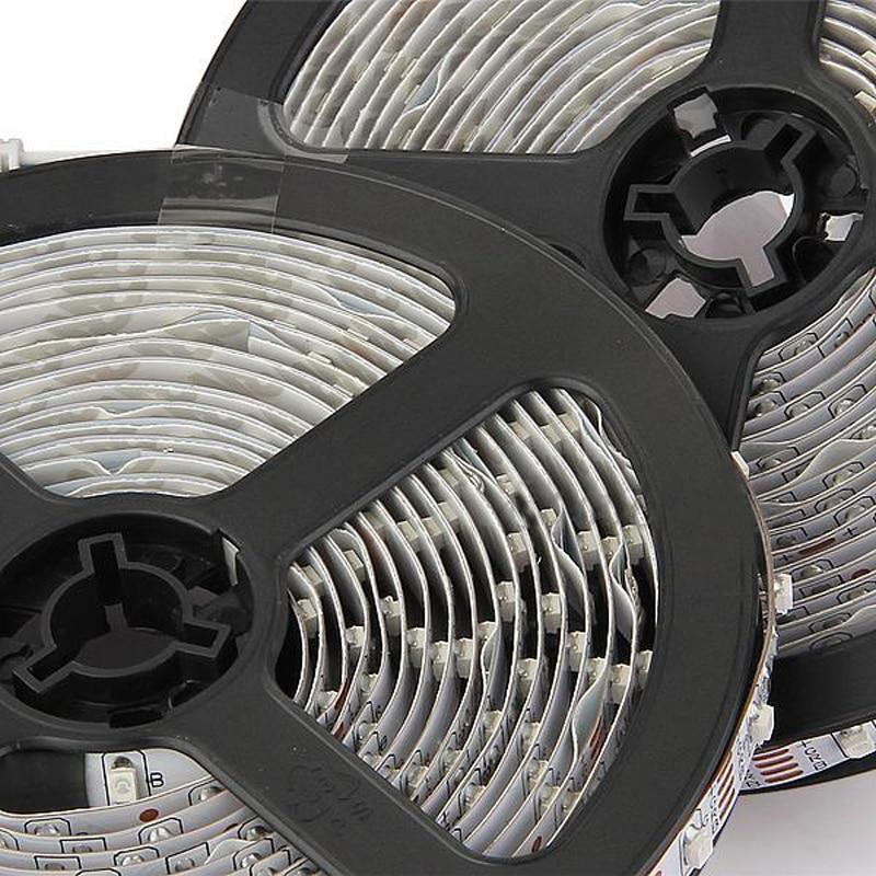 10m(2X5m) 3528 SMD 600 LED Strip Light RGB with 24 Key IR Remote Control Set