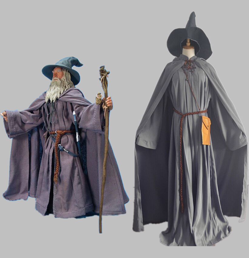 '�halloween Lord Of ��� The The Rings Gandalf Wizard Cosplay