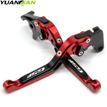 for SUZUKI GSF600 BANDIT 1995-1999 GSF 250 Clutch Brake With Logo GSF Motorcycle CNC aluminum Adjustable Brake Clutch Levers