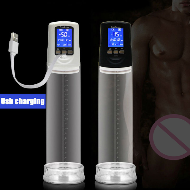 Penis pleasure pump
