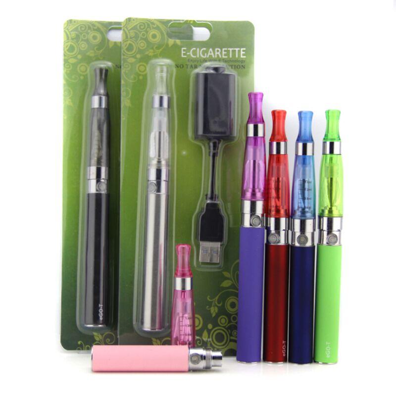 Elektronische zigarette Ego ce4 blister kit 1100 mah ego batterie mit ce4 zerstäuber e-zigaretten EGO CE4 ce5 vape shisha stift kit