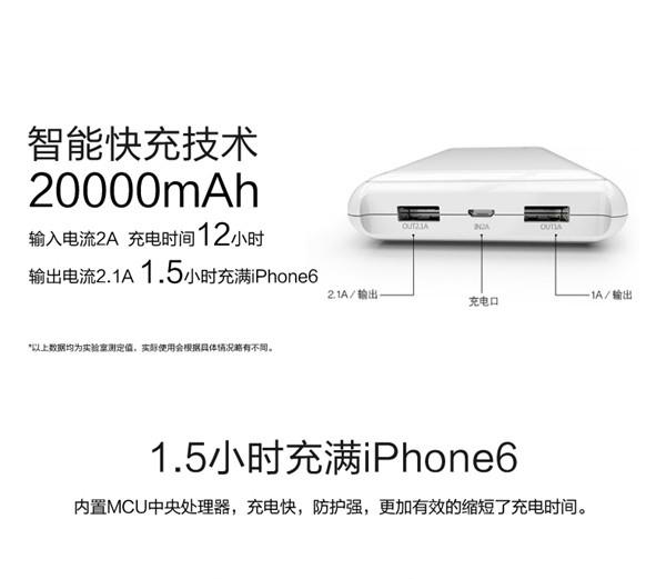 Besiter Beand 20000mAh Dual USB Power Bank (6)