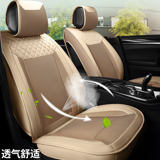 2017 new fashion 3d honeycomb mesh car cushion car seat cover set2017 new fashion 3d honeycomb mesh car cushion car seat cover set universal breathable cushion 2 front and rear bench cover