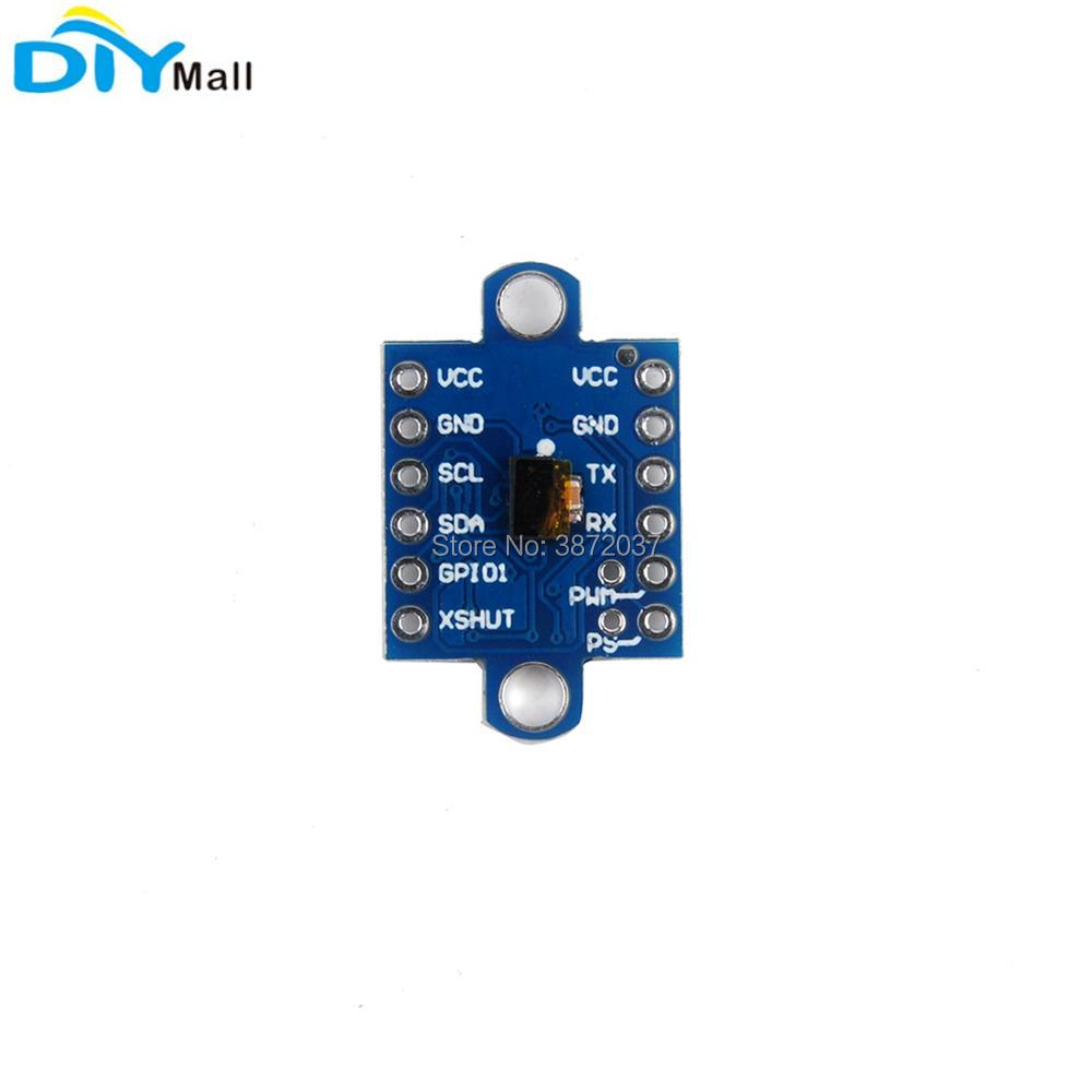 5pcs Lot Gy 53 Vl53l0x Time Of Flight Laser Range Sensor Infrared Ir How To Build An Distance Circuit Module Serial Pwm Iic Output For Arduino In Home Automation Modules From