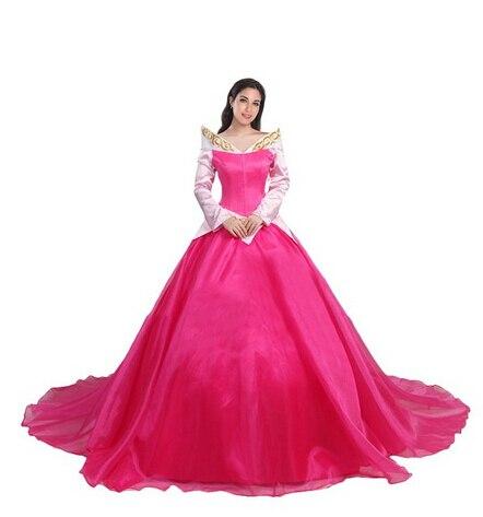 2017 Neue Stil Dornröschen Prinzessin Aurora Cosplay Kostüm Für Erwachsene Können Nach Maß Sein Für Frauen Party 2019 New Fashion Style Online