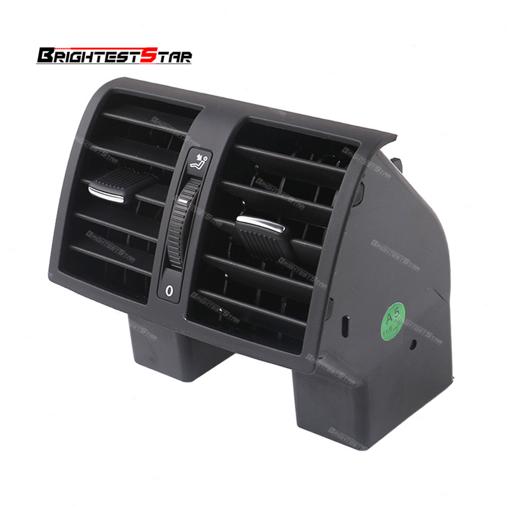 Touran Black Center Console Rear AC Air Conditioning Outlet Vent For VW Caddy Touran 2004-2015 1TD819203A 1T0819203B