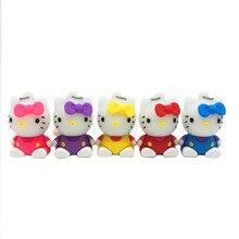 USB 3.0 hello kitty usb flash drive cute cartoon cat usb pen drive 64gb 32gb u disk 16gb 8gb flash memory 2.0 pendrive stick
