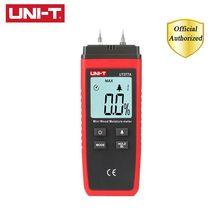 цена на UNI-T UT377A Digital Wood Moisture Meter Hygrometer Humidity Tester for Paper Plywood Wooden Materials Hand-held LCD Detector