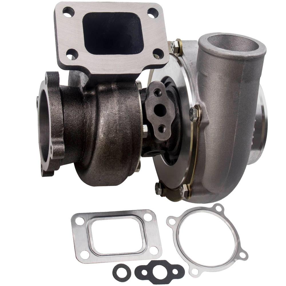 Turbocompresor GT3582 GT35 AR.70 AR.63 compresor Anti-sobrecarga para todos los 3,0l-6,0l 4/6 cilindros Turbo turbina T3 brida supercargador