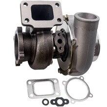 Turbosprężarka GT3582 GT35 AR.70 AR.63 sprężarka przeciwprzepięciowa dla wszystkich 3,0 l 6,0 l 4/6 cylindrowa turbina Turbo T3 kołnierz doładowania