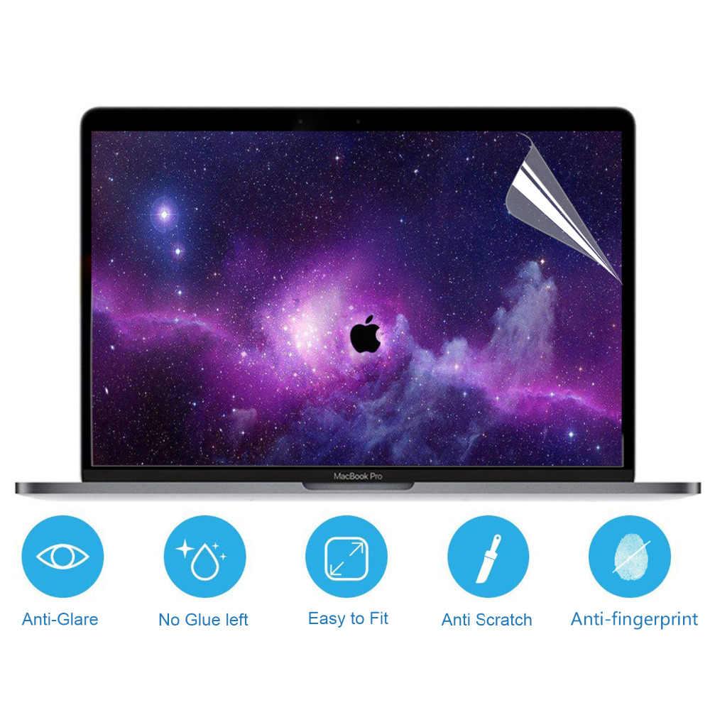3 قطعة ماتي بلو راي دفتر شاشة السينما لابتوب أبل ماك بوك برو 15 A1990 A1707 15.4 الشبكية عرض واقي للشاشة