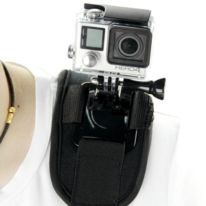 Image 3 - SnowHu für Gopro Zubehör Schulter Gurt Berg Chest Harness Adapter Für Go Pro hero 9 8 7 6 5 4 3 für Xiaomi Yi Sj4000 GP199