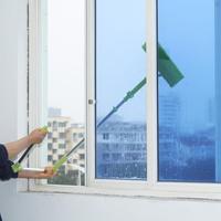 Telescopic High rise Cleaning Glass Sponge Mop Multi Cleaner Brush Washing Windows Dust Brush Easy Clean the Windows|Cleaning Brushes| |  -