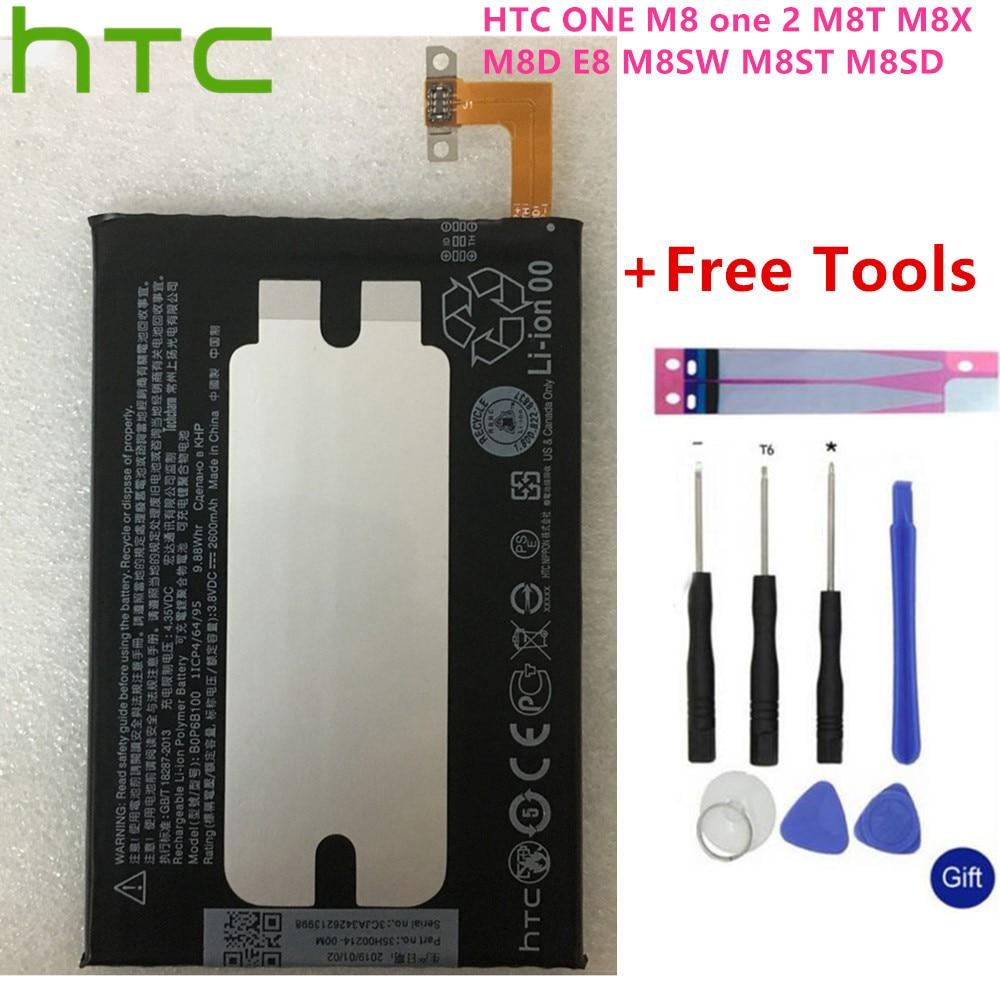 100% Original Hight Capacity BOP6B100 Battery B0P6B100 For HTC One 2 M8 Battery E8 M8x M8 X One2 W8 M8SD M8T M8W M8D M8SW M8ST|Mobile Phone Batteries| |  - title=