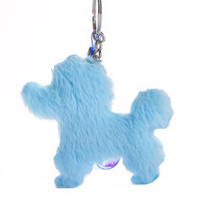 Hot Sale Cartoon Plush Keychain Toys Stuff Animals Cute Dog Small Pendant for Women Creative Gifts Valentine's day Birthday Gift(China)